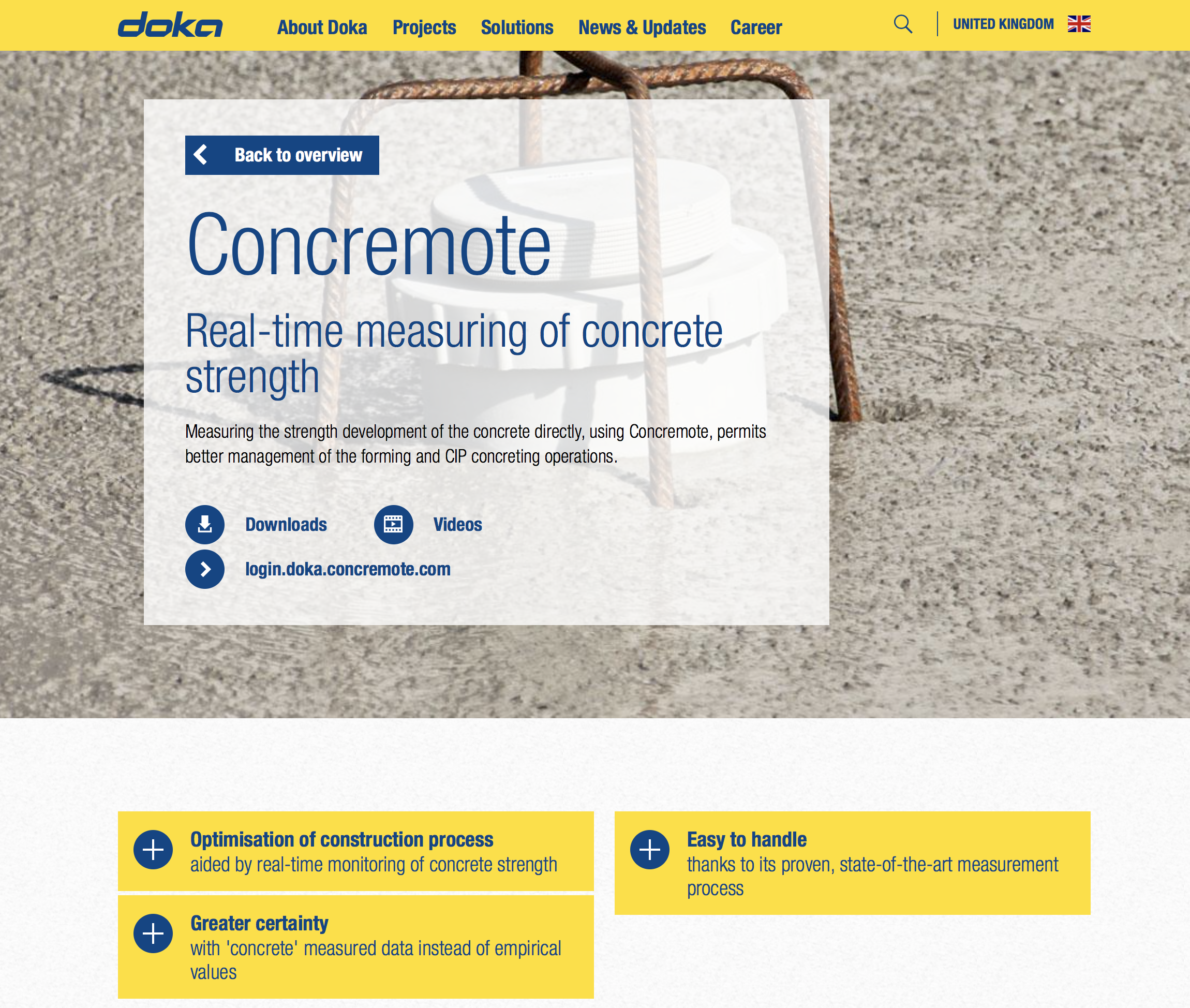 Concremote Doka UK