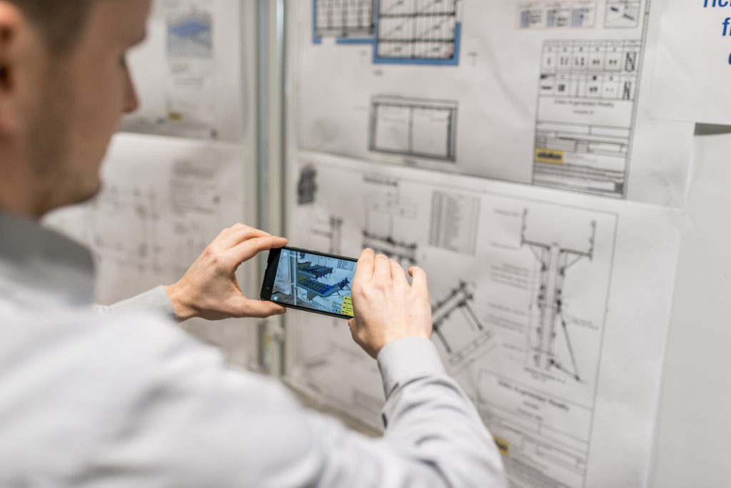 The Doka Augmented Reality app gives you an immersive experience of defined Doka drawings
